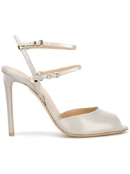 Giorgio Armani Open Toe Sandals Grey