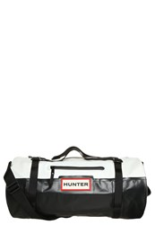 Hunter Original Sports Bag Black White