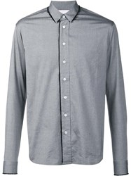 F.S.Z Classic Button Down Shirt Grey