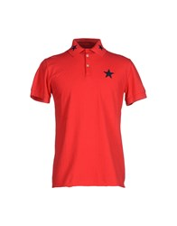 Macchia J Topwear Polo Shirts Men Green
