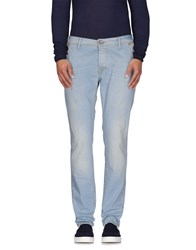0 Zero Construction Denim Denim Trousers Men Blue