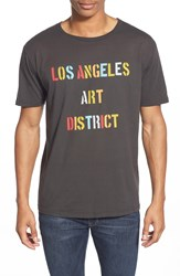 Project Social T 'Arts District' Graphic Tee Washed Black