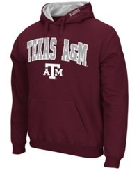 Colosseum Men's Texas A And M Aggies Arch Logo Hoodie Maroon