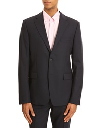 Kenzo K Fit 2 Button Navy Suit
