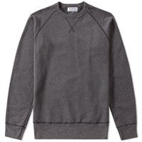 Velva Sheen Raglan Crew Sweat Black