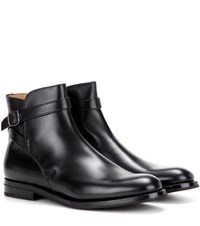 Church's Leather Ankle Boots Black