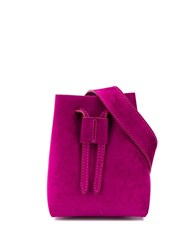 Nanushka Mini Bucket Bag Pink