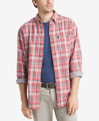 G.H. Bass And Co. Men's Lake Water Shirt Mineral Red