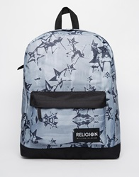 Religion Religon Star Backpack Black
