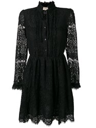 Denim And Supply Ralph Lauren Lace Mini Dress Black