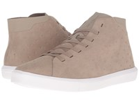 Native Monaco Mid Rocky Brown Shell White Lace Up Casual Shoes Khaki