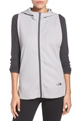 The North Face Women's 'Slacker' Hooded Vest Tnf Light Grey Heather
