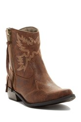 Michael Antonio Bonney Cowgirl Boot Brown
