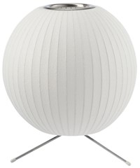 Herman Miller Ball Table Lamp With Tripod Stand White