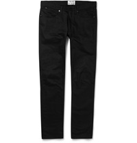 Acne Studios Max Slim Fit Overdyed Denim Jeans Black