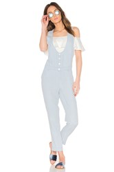 Obey Denizen Jumpsuit Blue