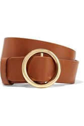 Frame Le Circle Leather Belt Brown