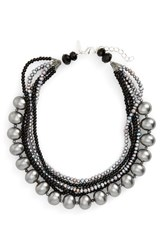 Panacea Women's Freshwater And Faux Pearl Statement Necklace