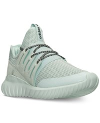 Adidas Men's Originals Tubular Radial Casual Sneakers From Finish Line Ice Mint Ice Mint Black