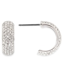 Swarovski Earrings Crystal Huggie Hoop Earrings