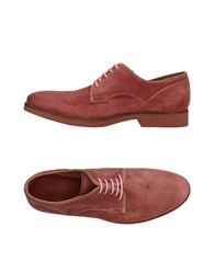 N.D.C. Made By Hand Lace Up Shoes Pastel Pink