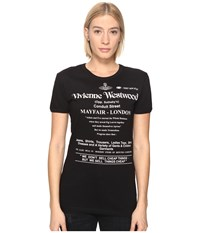 Vivienne Westwood We Don't Sell Cheap Things Top Black