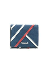 Desigual Wallet Arianne Square Blue