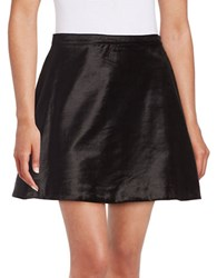 Free People Mini One Only So Skirt Black