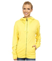 Black Diamond Castle Valley Hoodie Citrine Women's Sweatshirt Yellow