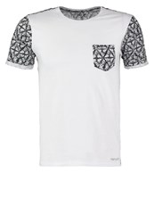 Teddy Smith Turin Print Tshirt White