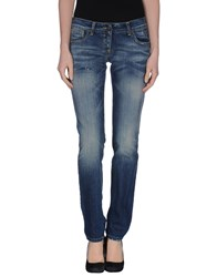 Adele Fado Denim Denim Trousers Women Blue