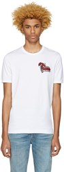 Dolce And Gabbana White Party Time Cocktails T Shirt