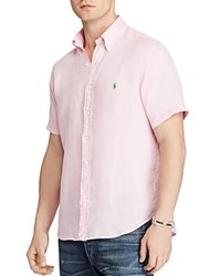 Polo Ralph Lauren Ocean Wash Classic Fit Button Down Shirt Carmel Pink