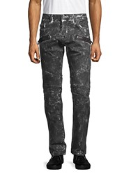 Cult Of Individuality Greaser Stretch Cotton Moto Pants Tar