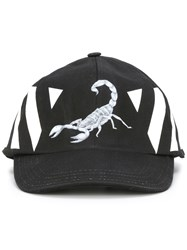 Off White Othelo Scorpion Cap Black