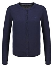 Gant Cardigan Marine Dark Blue