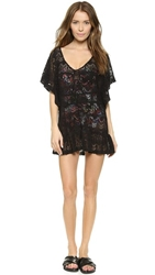 Eberjey Free Spirit Malena Cover Up Black