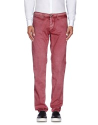 Cycle Trousers Casual Trousers Men Brick Red