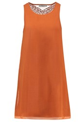 Teddy Smith Rima Summer Dress Orange