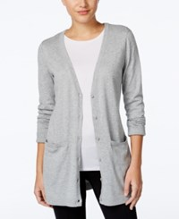 G.H. Bass And Co. Duster Cardigan Dark Heather Grey
