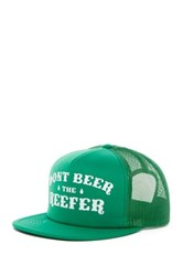 Volcom Mixer Cheese Snapback Cap Green