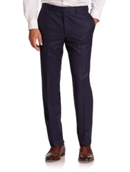Saks Fifth Avenue Wool Dress Pants Navy