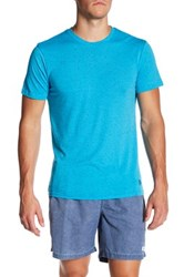 Mr. Swim Fleck Crew Neck Tee Blue
