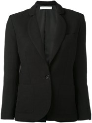 Societe Anonyme 'Palace' Jacket Women Linen Flax 40 Black