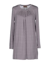 Alpha Massimo Rebecchi Short Dresses Grey