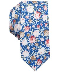 Penguin Men's Gulfstream Floral Slim Tie Blue