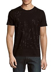 Cult Of Individuality Studded Solid Tee Black