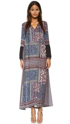Clover Canyon Patchwork Paisley Dress Multi