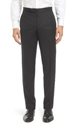 Ted Baker Men's London Josh Flat Front Wool And Mohair Formal Trousers
