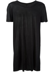 Rick Owens Scoop Neck T Shirt Black